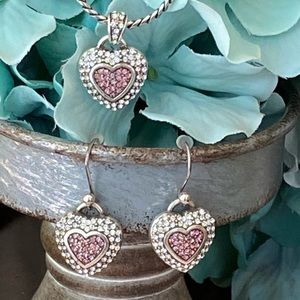 "Limited Edition Brighton ""SPREAD LOVE"" jewelry set"